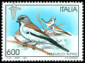 Cl: White-winged Snowfinch (Montifringilla nivalis) <<Fringuello alpino>>  SG 2294 (1995) 50