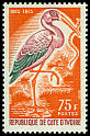Cl: Yellow-billed Stork (Mycteria ibis) SG 268 (1965) 550