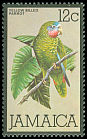 Cl: Yellow-billed Parrot (Amazona collaria) SG 469 (1980) 40
