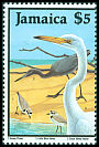 Cl: Great Egret (Ardea alba) SG 709 (1987)  I have 2 spare [2/30]