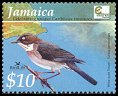 Cl: White-eyed Thrush (Turdus jamaicensis)(Endemic or near-endemic)  SG 1047 (2004)  [2/27]