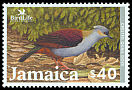 Cl: Crested Quail-Dove (Geotrygon versicolor) SG 1029 (2003)