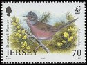 Cl: Dartford Warbler (Sylvia undata)(Repeat for this country)  SG 1161 (2004)  [3/18]