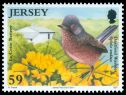 Cl: Dartford Warbler (Sylvia undata)(Repeat for this country) (I do not have this stamp)  SG 1601 (2011)