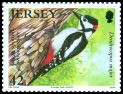 Cl: Great Spotted Woodpecker (Dendrocopos major) SG 1496 (2010)
