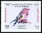 Cl: European Goldfinch (Carduelis carduelis)(Repeat for this country)  SG 2031 (2002) 100