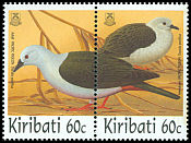 Cl: Pacific Imperial-Pigeon (Ducula pacifica) SG 544-5 (1997) 180