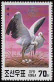 Cl: Oriental Stork (Ciconia boyciana)(Repeat for this country)  SG 3033 (1991)