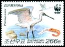 Cl: Black-faced Spoonbill (Platalea minor)(Repeat for this country)  SG 4881d (2009)