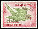 Cl: Grey-headed Parakeet (Psittacula finschii) SG 178 (1966) 55