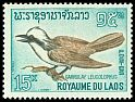 Cl: White-crested Laughingthrush (Garrulax leucolophus) SG 179 (1966) 60