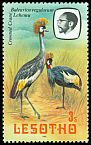 Cl: Grey Crowned-Crane (Balearica regulorum) <<Lehemu>>  SG 439 (1981) 20