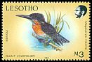 Cl: Giant Kingfisher (Megaceryle maximus) <<Seinoli>>  SG 804 (1988) 150