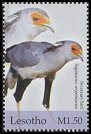 Cl: Secretarybird (Sagittarius serpentarius)(Repeat for this country)  SG 1928 (2004)  [3/1]