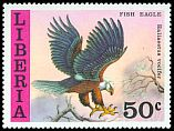 Cl: African Fish-Eagle (Haliaeetus vocifer) SG 1312 (1977) 240