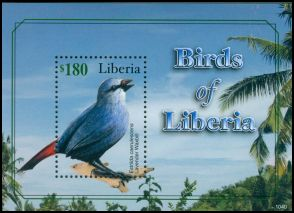 Cl: Lavender Waxbill (Estrilda caerulescens)(I do not have this stamp)  new (2011)  [7/14]