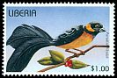 Cl: Northern Paradise-Whydah (Vidua orientalis)(Repeat for this country)  new (1996)