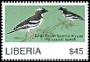 Cl: White-browed Sparrow-Weaver (Plocepasser mahali)(Out of range and no other stamp)  new (2008)  [4/48]