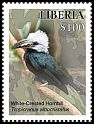 Cl: White-crested Hornbill (Tockus albocristatus)(I do not have this stamp)  new (2016)