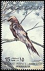 Cl: Pallid Swift (Apus pallidus) SG 1191 (1982)  [5/33]
