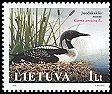 Lithuania <<Juodakaklis naras>> SG 866 (2005)