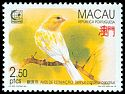 Cl: Island Canary (Serinus canaria dom.)(Out of range and no other stamp)  SG 901 (1995) 230
