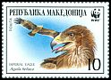 Cl: Imperial Eagle (Aquila heliaca)(Repeat for this country)  SG 321 (2001)