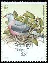 Cl: Trocaz Pigeon (Columba trocaz) <<Pombo trocaz>> (Endemic or near-endemic)  SG 265 (1991)
