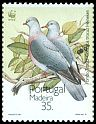 Cl: Trocaz Pigeon (Columba trocaz) <<Pombo trocaz>> (Endemic or near-endemic)  SG 266 (1991)