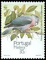 Cl: Trocaz Pigeon (Columba trocaz) <<Pombo trocaz>> (Endemic or near-endemic)  SG 267 (1991)