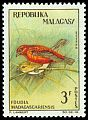 Cl: Red Fody (Foudia madagascariensis) SG 59 (1963) 40