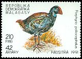Cl: Purple Swamphen (Porphyrio porphyrio) SG 934 (1991)