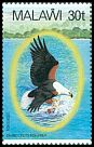 Cl: African Fish-Eagle (Haliaeetus vocifer)(Repeat for this country)  SG 676 (1983) 140