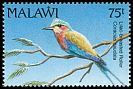 Cl: Lilac-breasted Roller (Coracias caudata) SG 879 (1992) 90