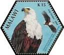 Cl: African Fish-Eagle (Haliaeetus vocifer)(Repeat for this country)  SG 1031a (2004)