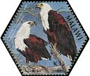 Cl: African Fish-Eagle (Haliaeetus vocifer)(Repeat for this country)  SG 1031b (2004)
