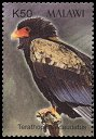 Cl: Bateleur (Terathopius ecaudatus)(Repeat for this country)  SG 1018c (2003) 150