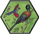 Cl: Purple-crested Turaco (Tauraco porphyreolophus) SG 1031e (2004)