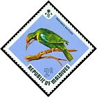 Cl: Golden-fronted Leafbird (Chloropsis aurifrons)(Out of range)  SG 463 (1973) 550