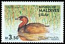 Cl: Little Grebe (Tachybaptus ruficollis)(Out of range)  SG 1084 (1985) 200