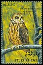 Cl: Short-eared Owl (Asio flammeus) SG 1850 (1993) 65
