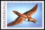 Cl: Brown Booby (Sula leucogaster)(Repeat for this country)  SG 3280 (2000) 40