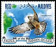 Cl: Amur Falcon (Falco amurensis)(I do not have this stamp)  new (2014)