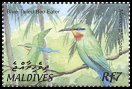 Cl: Blue-tailed Bee-eater (Merops philippinus) SG 3684 (2002) 140 [1/15]