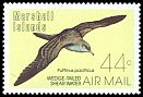 Cl: Wedge-tailed Shearwater (Puffinus pacificus) SG 103 (1987) 60
