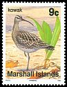 Cl: Whimbrel (Numenius phaeopus) SG 286 (1992) 0