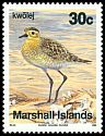Cl: Pacific Golden-Plover (Pluvialis fulva)(Repeat for this country)  SG 297 (1990)