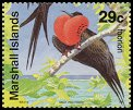 Cl: Great Frigatebird (Fregata minor)(Repeat for this country)  SG 399 (1991)