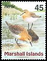 Cl: Red-necked Stint (Calidris ruficollis) <<Aerar>>  SG 1118 (1999)