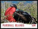 Cl: Great Frigatebird (Fregata minor)(Repeat for this country) (I do not have this stamp)  new (2018)